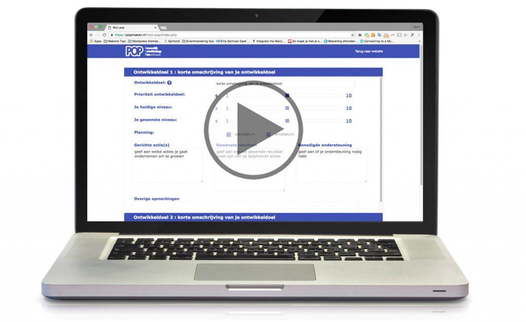 persoonlijk ontwikkelingsplan maken video instructie