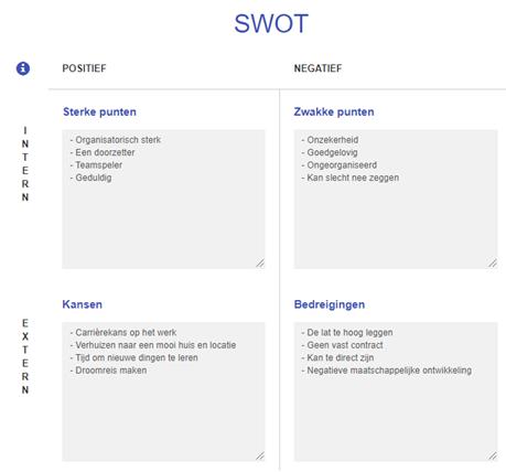 SWOT analyse voorbeeld - Een SWOT analyse maken doe je zo!